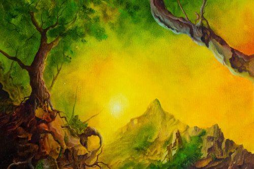 Wanderungen durch das Land der Gedanken I - der Pass der steinernden Köpfe